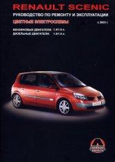 Renault Scenic с 2003 г.в. Руководство по ремонту, эксплуатации и техническому обслуживанию. - артикул:3013