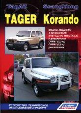 Руководство по ремонту и техническому обслуживанию SsangYong Korando и TagAZ Tager. - артикул:1168