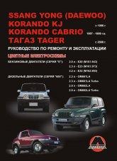 Ssang Yong Korando KJ / Cabrio, ТАГАЗ Tager с 1996/2008 г.в. Руководство по ремонту, эксплуатации и техническому обслуживанию. - артикул:3294