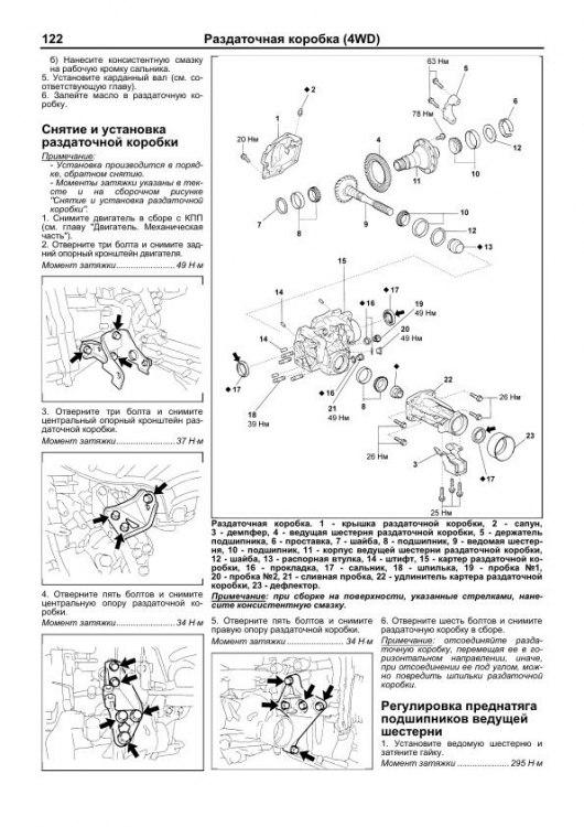 руководство по эксплуатации тойота раум 2003