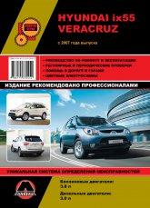 Hyundai ix55 и Hyundai Veracruz с 2007 г.в. Руководство по ремонту, эксплуатации и техническому обслуживанию. - артикул:4441