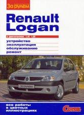 Renault Logan c 2004 г.в. Цветное издание руководства по ремонту, эксплуатации и техническому обслуживанию. - артикул:1711