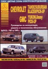 Chevrolet Tahoe / Suburban 1987-1999 г.в. Руководство по ремонту, эксплуатации и техническому обслуживанию. - артикул:529