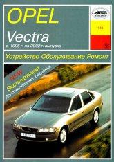 Opel Vectra-B 1995-2002 г.в. Руководство по ремонту, эксплуатации и техническому обслуживанию. - артикул:1668
