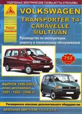 Volkswagen Transporter T4 1990-2003 г.в. Руководство по эксплуатации, ремонту, и техническому обслуживанию.