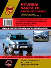 Hyundai Santa Fe и Hyundai Santa Fe Classic c 2000 и 2004 г.в. Руководство по ремонту, эксплуатации и техническому обслуживанию. - артикул:2095