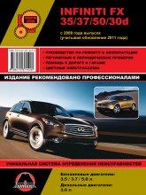 Infiniti FX 35 / 37 / 50 / 30d c 2008 и 2011 г.в. Руководство по ремонту, эксплуатации и техническому обслуживанию.