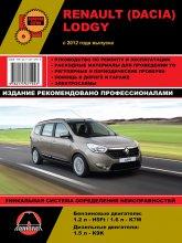 Renault Lodgy и Dacia Lodgy с 2012 г.в. Руководство по ремонту, эксплуатации и техническому обслуживанию. - артикул:7436
