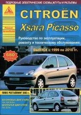 Citroen Xsara Picasso 1999-2010 г.в. Руководство по ремонту, эксплуатации и техническому обслуживанию.