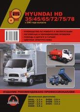 Hyundai HD 35/45/65/72/75/78 с 2003 г.в. Руководство по ремонту, эксплуатации и техническому обслуживанию. - артикул:4089