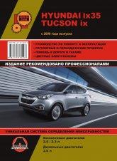 Hyundai ix35 и Hyundai Tucson ix с 2009 г.в. Руководство по ремонту, эксплуатации и техническому обслуживанию. - артикул:3377