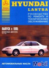 Hyundai Lantra с 1995 г.в. Руководство по ремонту, эксплуатации и техническому обслуживанию. - артикул:455