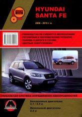 Hyundai Santa Fe 2006-2010 г.в. Руководство по ремонту, эксплуатации и техническому обслуживанию. - артикул:929