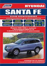 Руководство по ремонту и техническому обслуживанию Hyundai Santa Fe 2006-2009 г.в. - артикул:3955