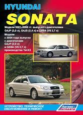 Руководство по ремонту и эксплуатации Hyundai Sonata 2001-2006 г.в. - артикул:1903