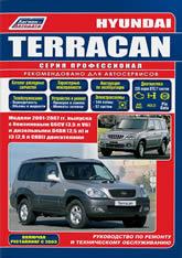 Руководство по ремонту и техническому обслуживанию Hyundai Terracan 2001-2007 г.в. - артикул:1806