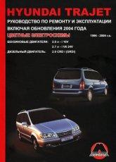 Hyundai Trajet 1999-2006 г.в., рестайлинг 2004 г. Руководство по ремонту, эксплуатации и техническому обслуживанию. - артикул:3006