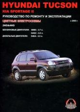 Hyundai Tucson с 2003 г.в. и Kia Sportage II с 2005 г.в. Руководство по ремонту, эксплуатации и техническому обслуживанию. - артикул:1144