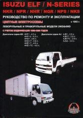 Isuzu Elf и Isuzu N-Series с 1993 г.в. Руководство по ремонту, эксплуатации и техническому обслуживанию.