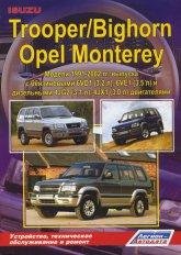 Руководство по ремонту и техническому обслуживанию Isuzu Trooper / Bighorn, Opel Monterey 1991-2002 г.в. - артикул:1619