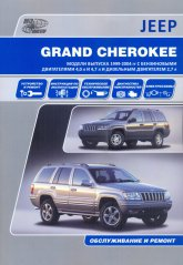 Руководство по ремонту и эксплуатации Jeep Grand Cherokee WJ 1999-2004 г.в. - артикул:3758