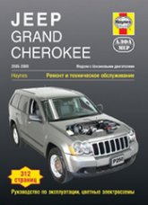 Jeep Grand Cherokee 2005–2009 г.в. Руководство по ремонту, эксплуатации и техническому обслуживанию. - артикул:3989