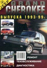 Jeep Grand Cherokee 1993-1999 г.в. Руководство по ремонту и эксплуатации. Устройство и техническое обслуживание. - артикул:1002
