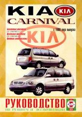 Kia Carnival с 1999 г.в. Руководство по ремонту, эксплуатации и техническому обслуживанию. - артикул:2071