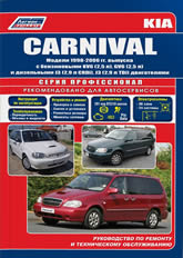 Руководство по ремонту и техническому обслуживанию Kia Carnival 1998-2006 г.в. - артикул:4116