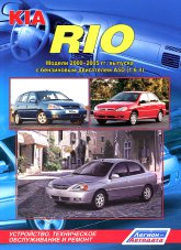 Руководство по ремонту и эксплуатации Kia Rio 2000-2005 г.в.