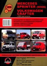 Mercedes Sprinter W906 и Volkswagen Crafter с 2006 г.в. Руководство по ремонту, эксплуатации и техническому обслуживанию.