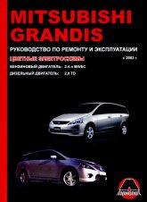 Mitsubishi Grandis с 2003 г.в. Руководство по ремонту, эксплуатации и техническому обслуживанию. - артикул:3291