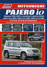 Mitsubishi Pajero iO 1998-2007 г.в. Руководство по ремонту, эксплуатации и техническому обслуживанию Mitsubishi Pajero iO. - артикул:1955
