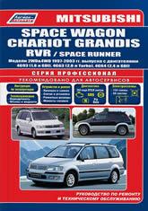 Mitsubishi Space Wagon/Chariot Grandis/RVR 1997-2003 г.в. Руководство по ремонту, эксплуатации и техническому обслуживанию. - артикул:3770