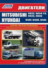 Дизельные двигатели Mitsubishi 4D33, 4D34-T4, 4D35, 4D36. Руководство по ремонту, эксплуатации и техническому обслуживанию. - артикул:1550