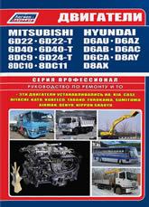 Двигатели Mitsubishi 6D22, 6D24, 6D40, 8DC9T, 8DC10, 8DC11. Руководство по ремонту, эксплуатации и техническому обслуживанию - артикул:1706